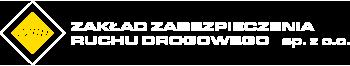 Zakład Zabezpieczenia Ruchu Drogowego Sp. z o. o. Logo